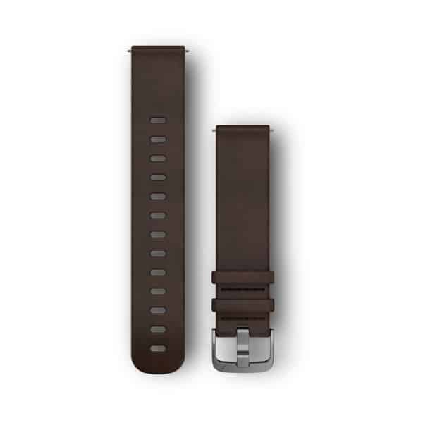 Quick Release 20mm Leather Brown
