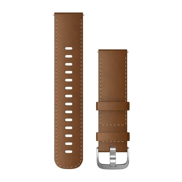 Quick Release 22mm Leather Brown